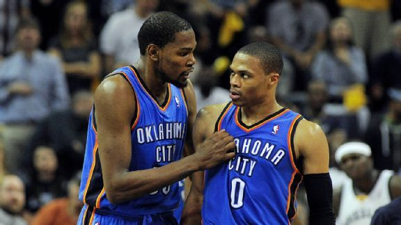 25922c7f3355 Can Russell Westbrook lead Oklahoma City Thunder without Kevin ...