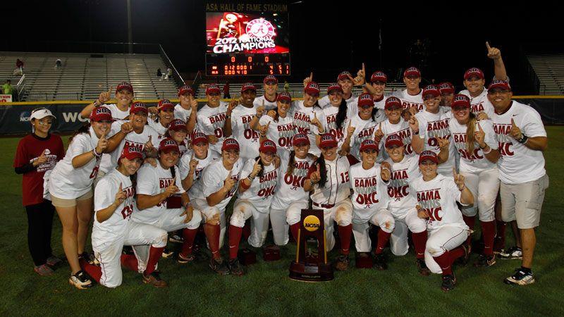 SEC 40/40: 2012 Alabama Softball