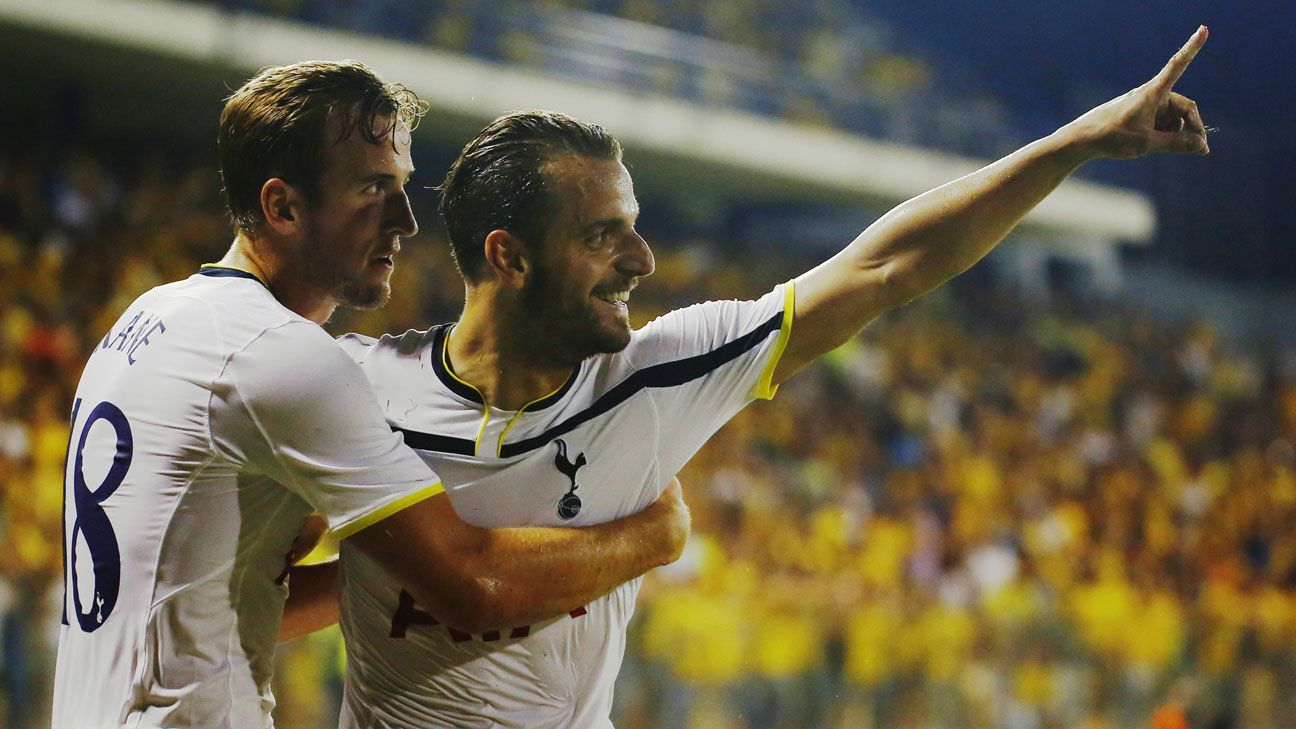 Tottenham rally to win in Cyprus