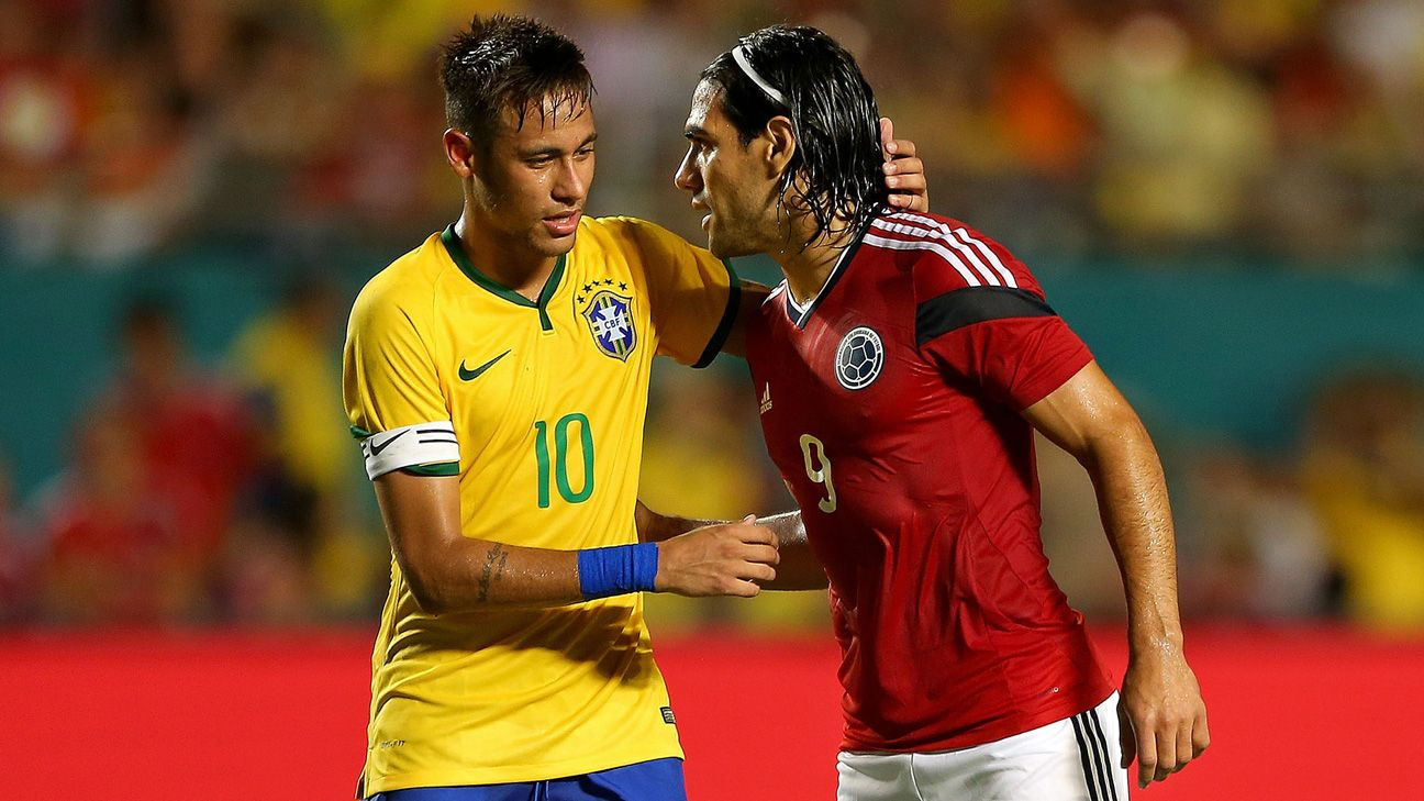 Brazil and Colombia to play friendly in Miami on Sept. 6