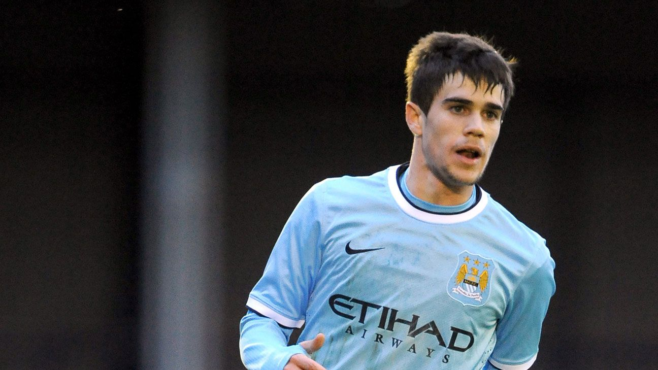 Man City striker Jose Angel Pozo joins Almeria on permanent deal