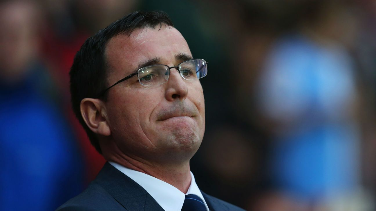 Blackpool manager Gary Bowyer steps down after one game