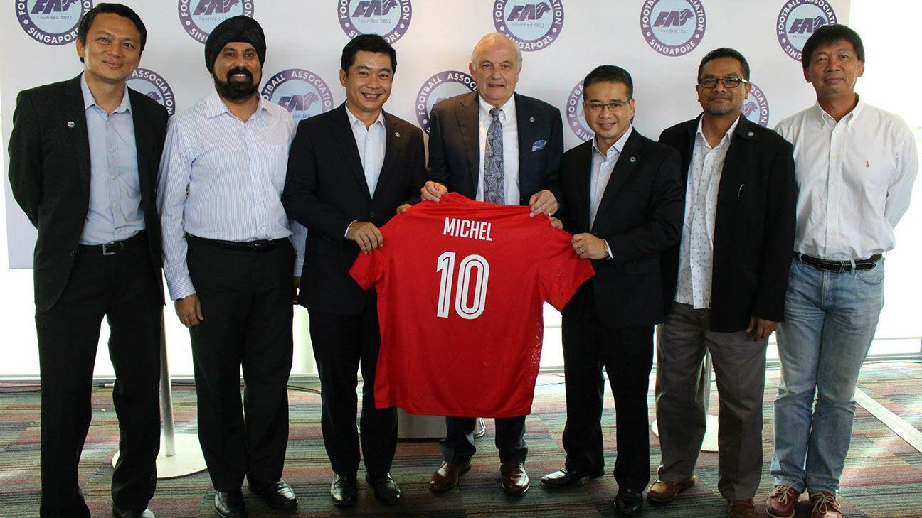 Michel Sablon must help fill Singapore void after S.League exodus