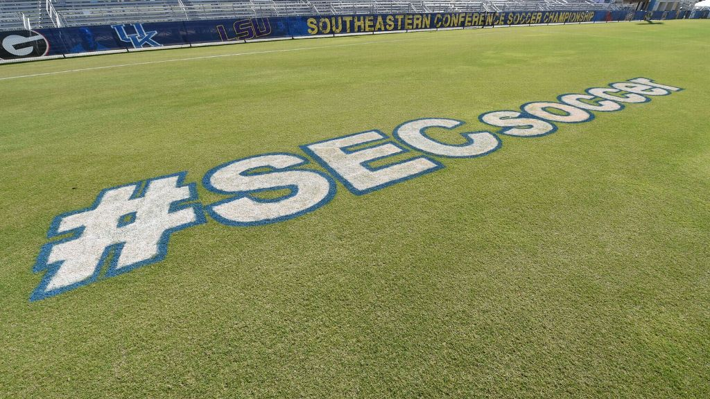300 SEC soccer and volleyball games available in 2016