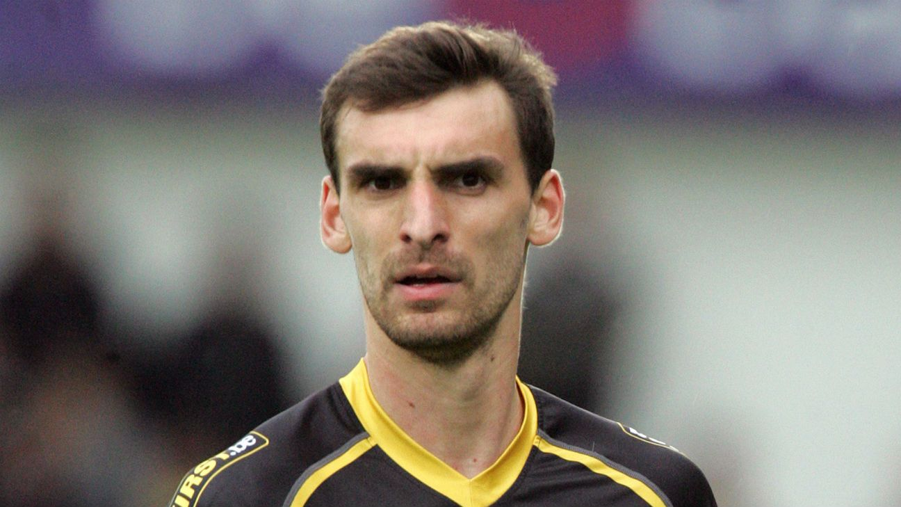 Lokeren's Gregory Mertens dies three days after collapsing on pitch