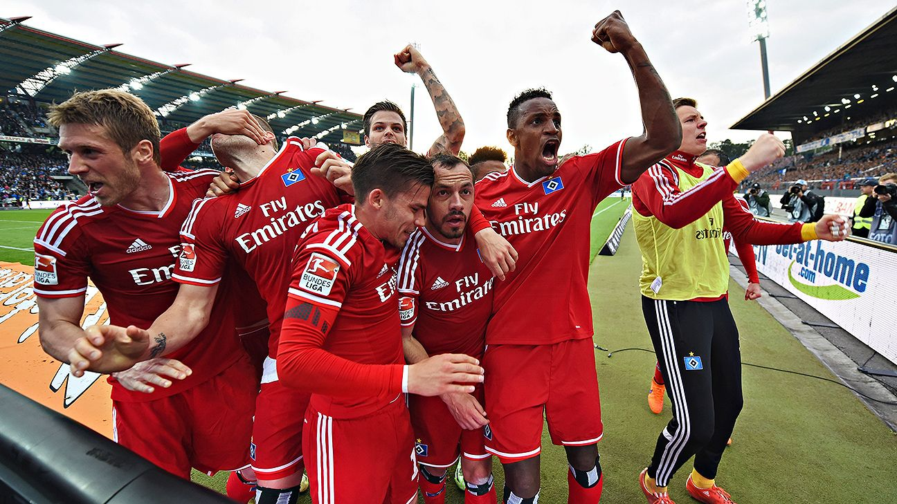 Hamburg hail Bundesliga survival act after defeating Karlsruher