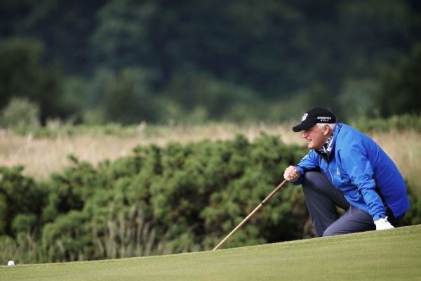 Sandy Lyle, Stephen Ames share PGA Tour Champions lead