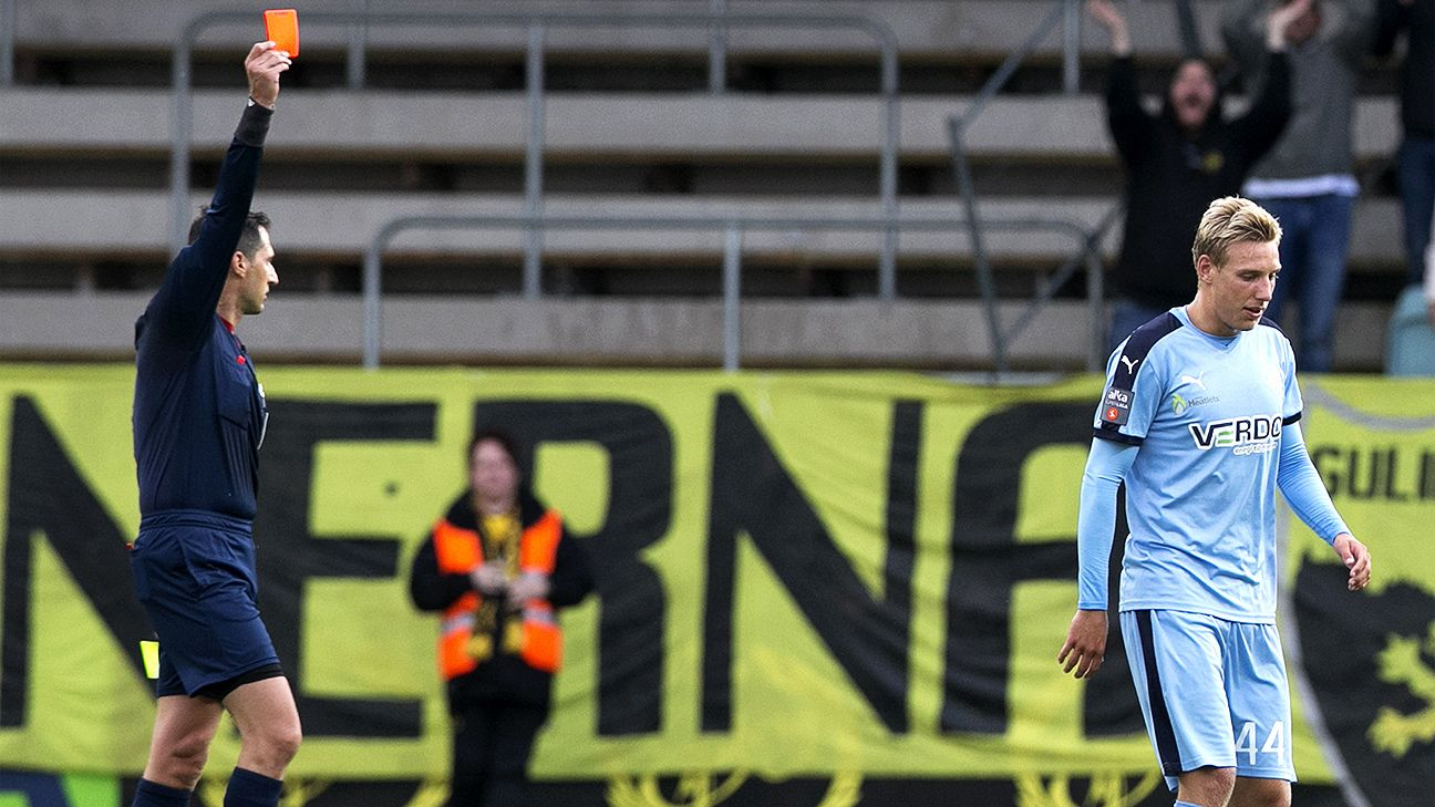 Simon Lundevall's extra-time goal lets Elfsborg advance in Europa League