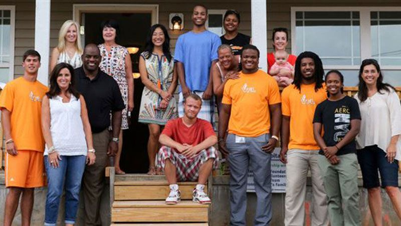 Vols build fifth Habitat for Humanity home