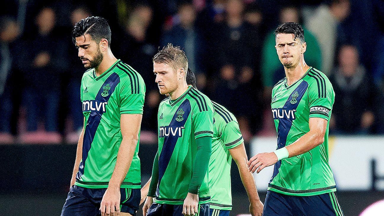 Southampton shocked by FC Midtjylland, Dortmund cruise past Odd
