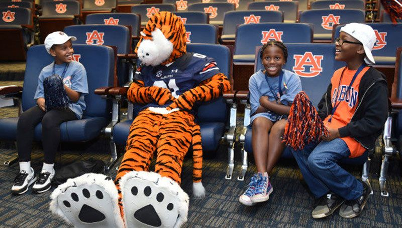 Schmid Scholars welcomed by Auburn Athletics
