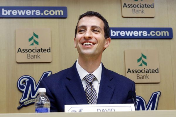 David Stearns gets contract extension, promoted to Brewers president of baseball operations