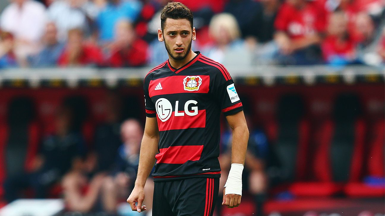 Bayer Leverkusen's Hakan Calhanoglu to serve four-month ban from FIFA