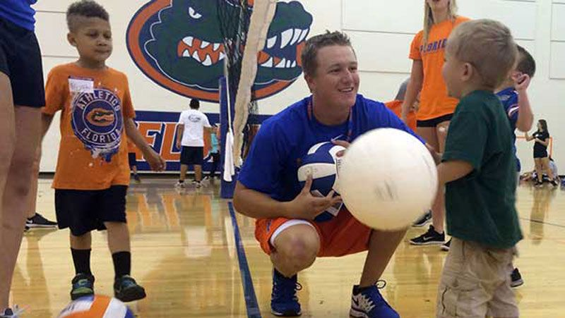 Gators give smiles at Climb for Cancer