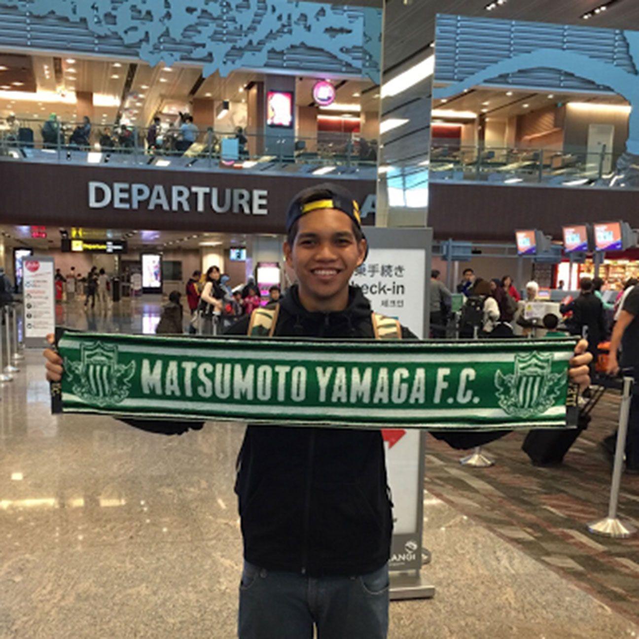 Singapore's Izwan Mahbud ready to make dream come true in Japan