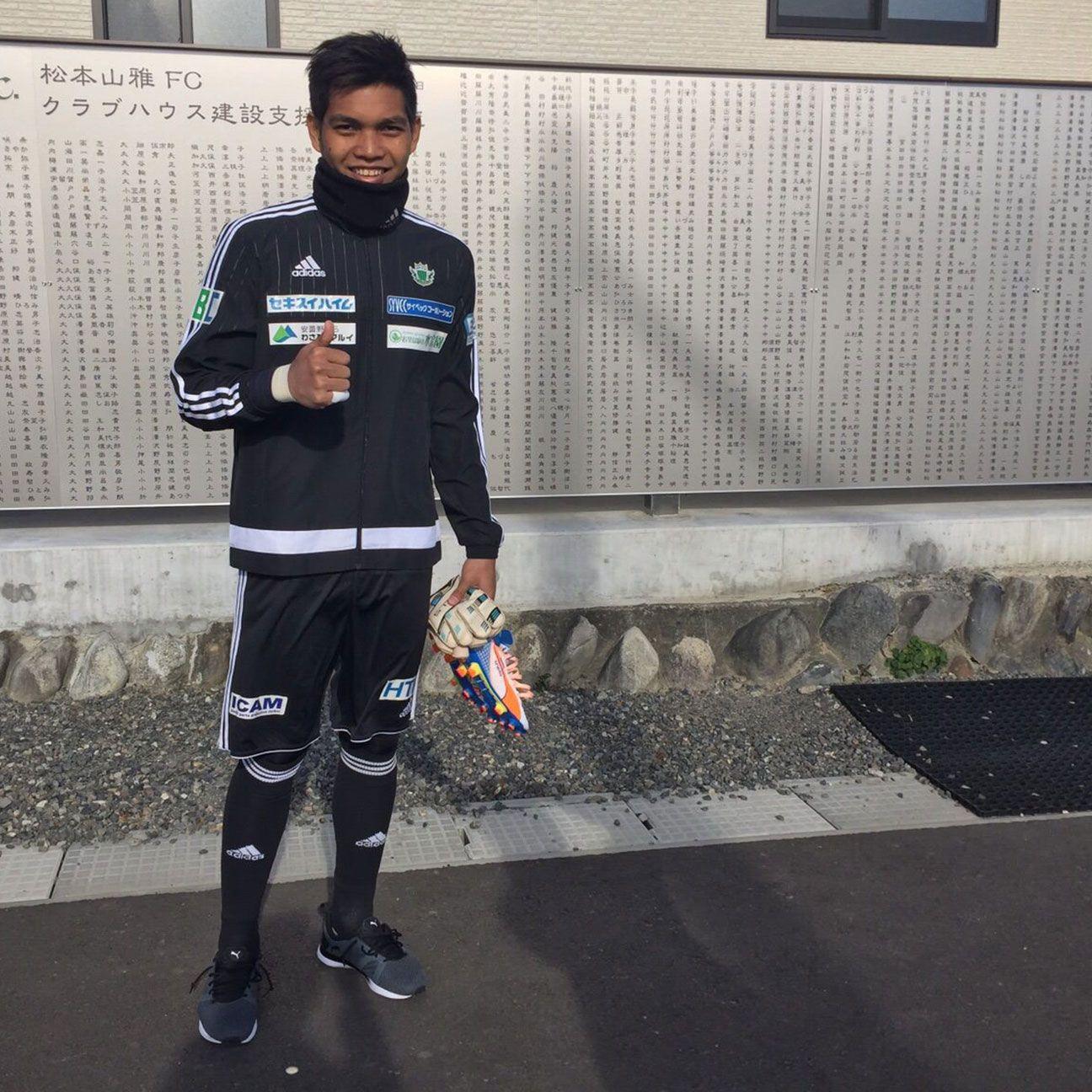 Singapore star Izwan Mahbud's freezing introduction to Japan