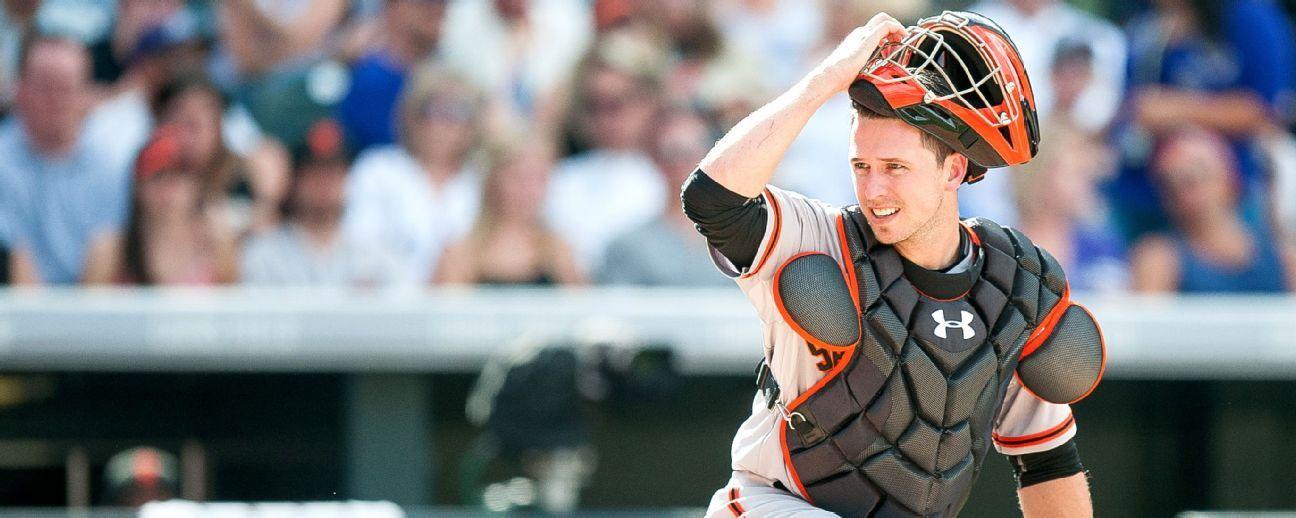 Buster Posey no jugará como catcher en primeros juegos de exhibición de Giants