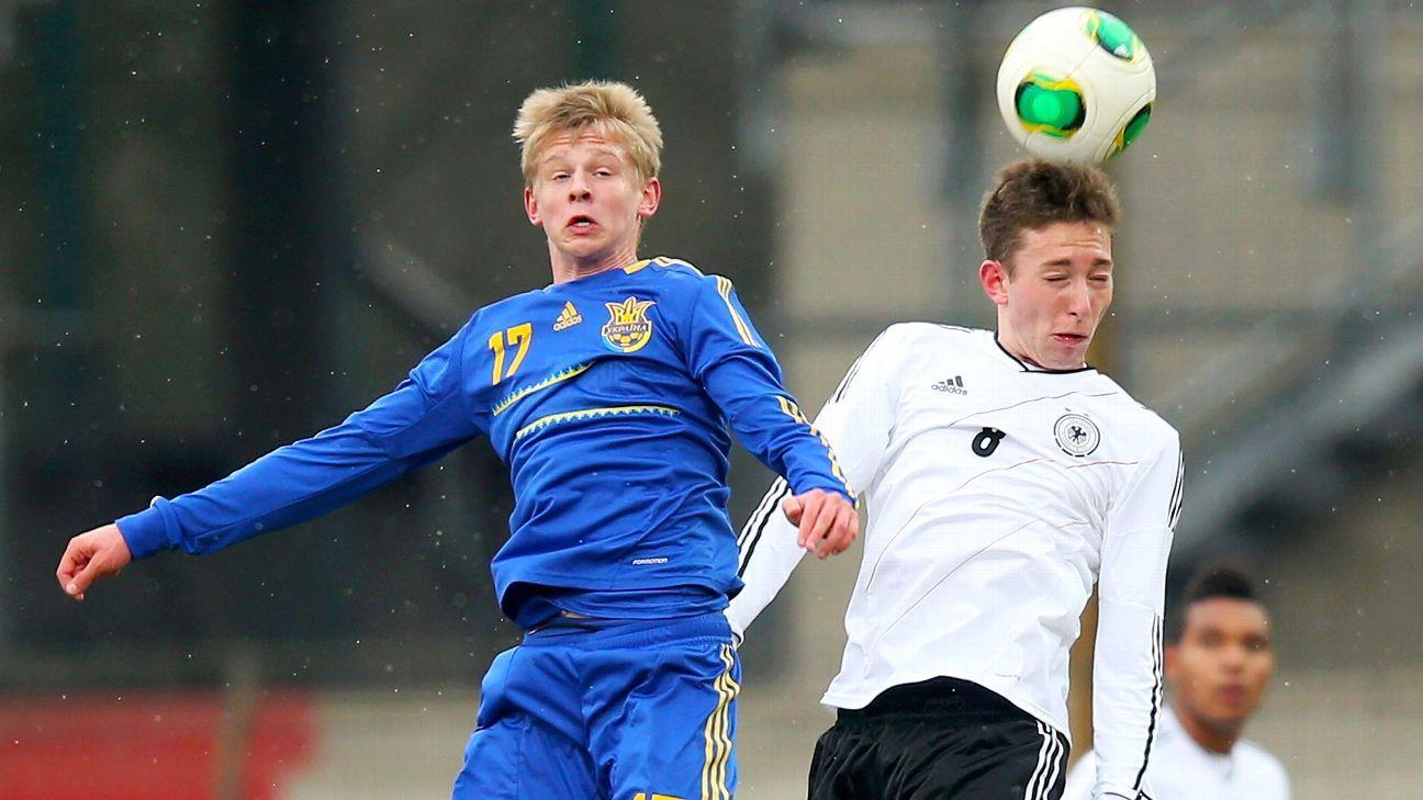 FC Ufa's Oleksandr Zinchenko set for Borussia Dortmund move - agent