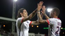 Edinson Cavani's hat trick helps PSG set two Ligue 1 records