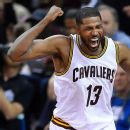 e51ba685d12 LeBron James of Cleveland Cavaliers throws down gauntlet -- Charles ...