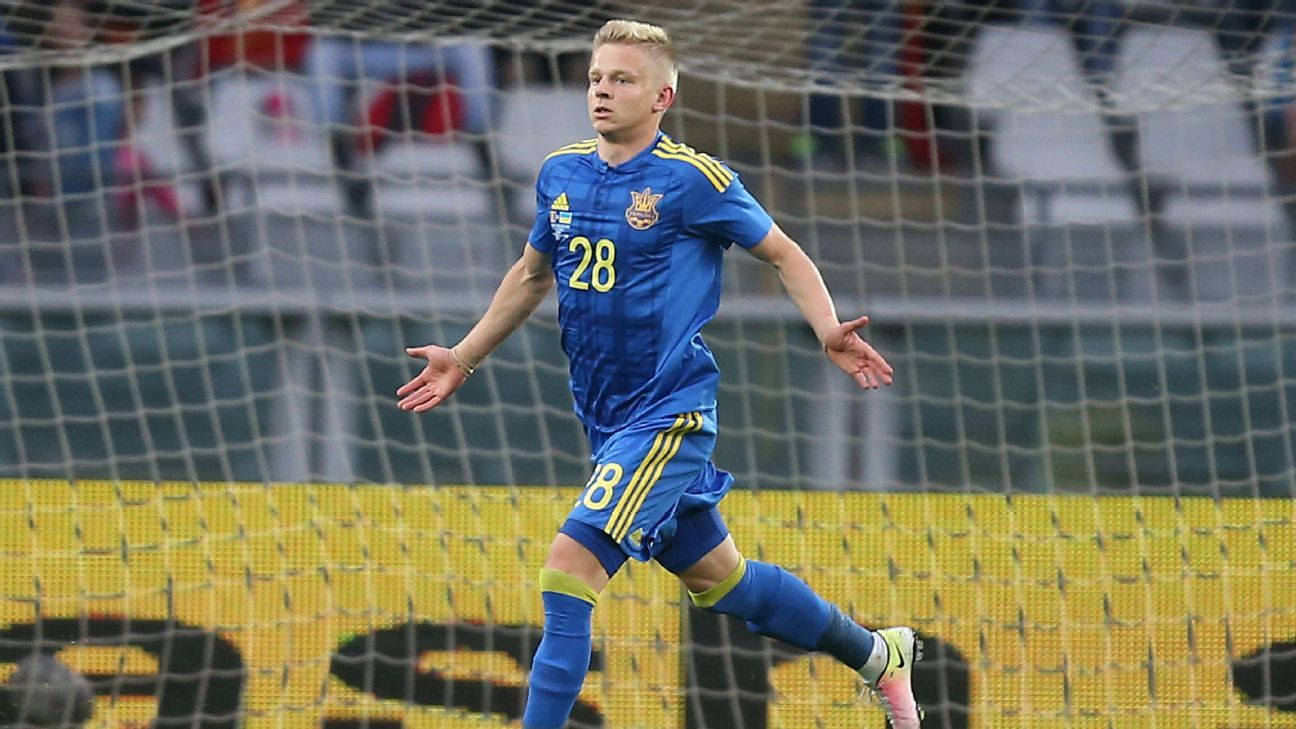 Manchester City agree deal for Oleksandr Zinchenko - sources