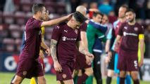 Europa League: Hearts shocked by Birkirkara; Hibernian lose on penalties