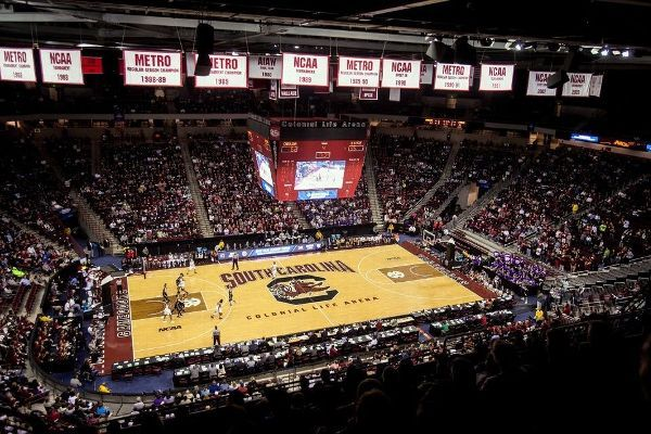 South Carolina offers free hoops tickets to federal workers during shutdown