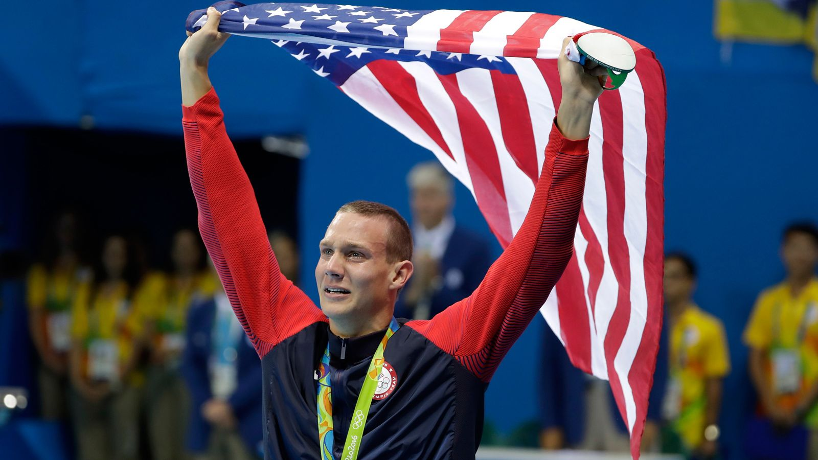 Florida's Caeleb Dressel captures gold medal