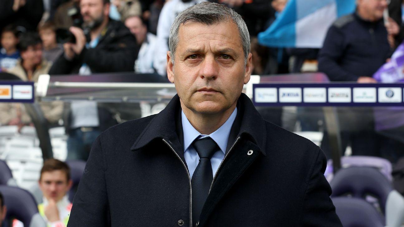 Lyon coach Bruno Genesio says he'll leave club at end of season