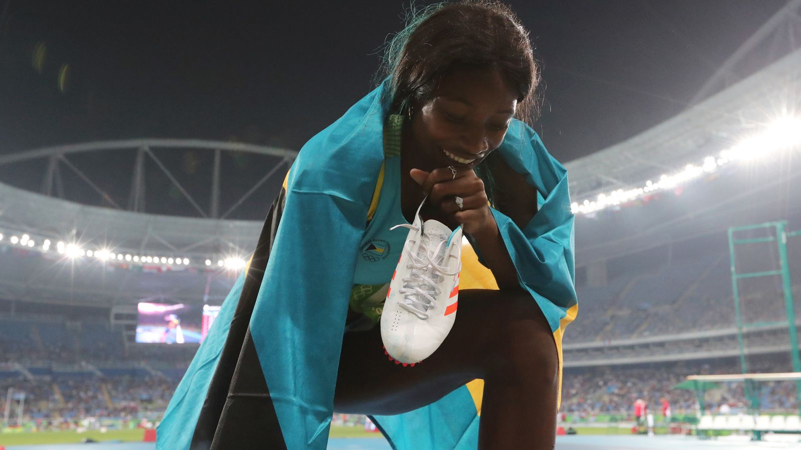 Former Bulldog Shaunae Miller wins Olympic gold