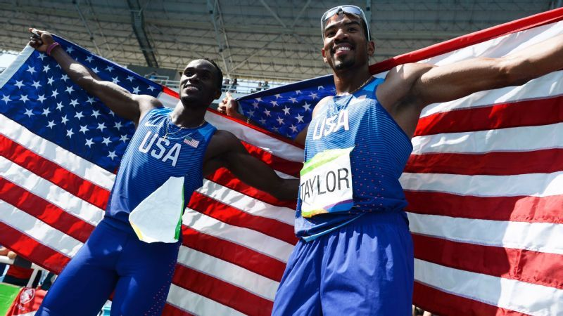 Florida's Taylor, Claye win gold, silver in triple jump