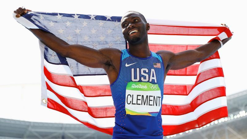 Florida hurdler captures Olympic gold