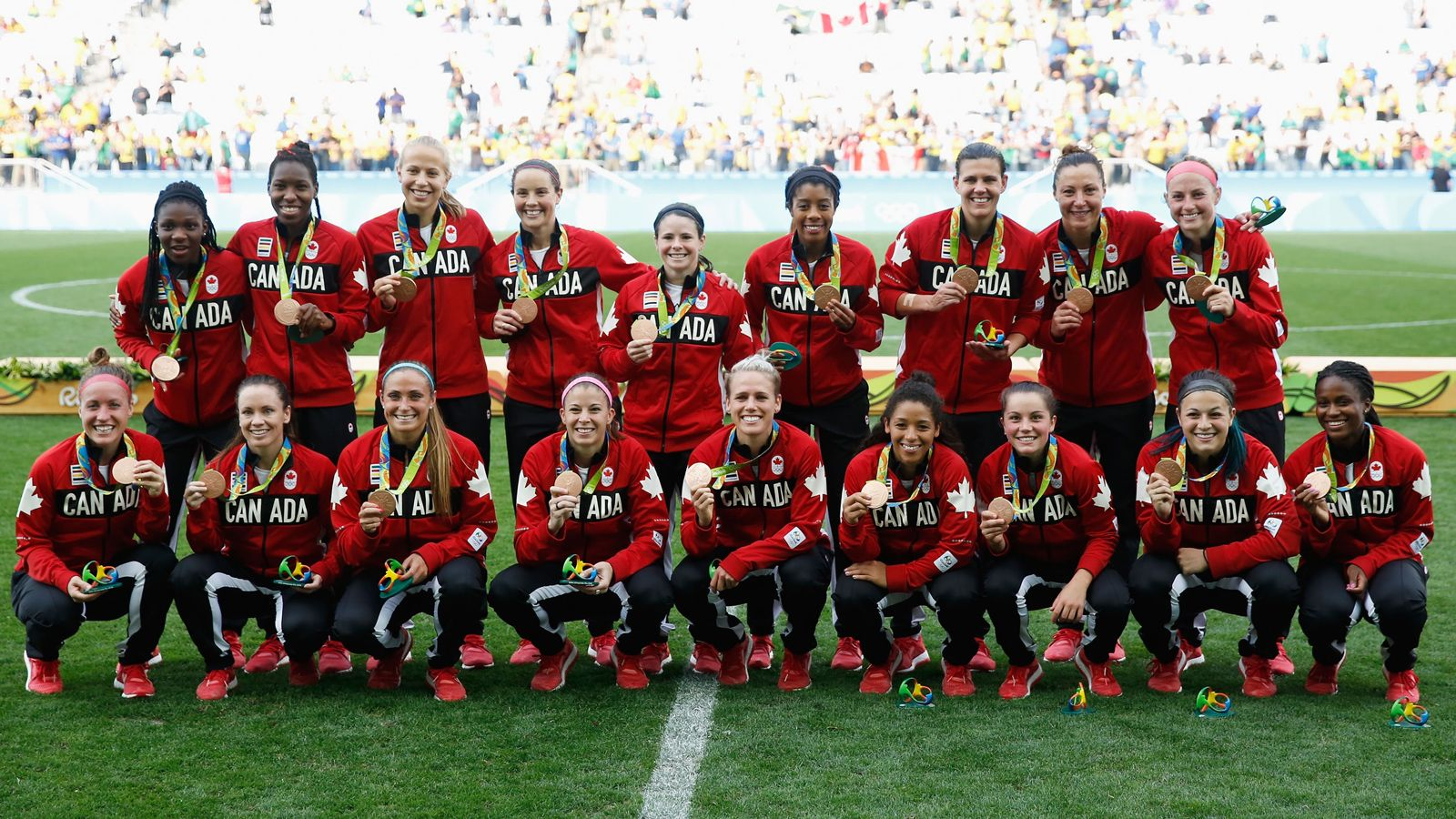 Three former SEC soccer players win bronze for Canada