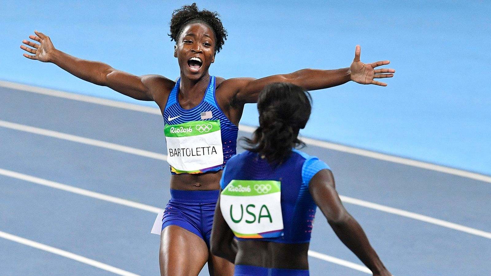 Bartoletta wins her second gold of the Rio Olympics
