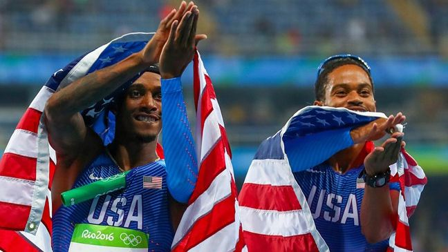 Former Gamecock earns gold medal in 4x400m relay