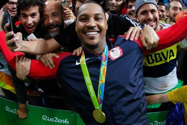 Puerto Rico national team recruiting Carmelo Anthony