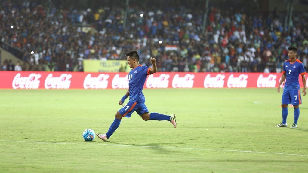 Chhetri inspires India to 4-1 win over Puerto Rico