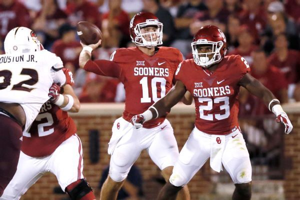 Oklahoma QB Austin Kendall will be able to play immediately for West Virginia