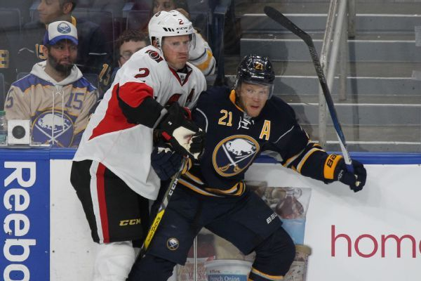 Sabres' Kyle Okposo sent home 3 days after being punched in face