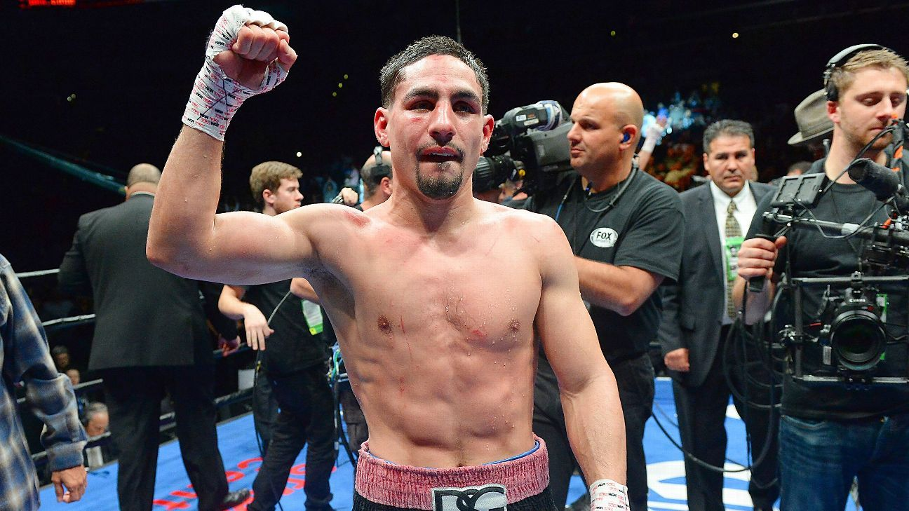 Danny Garcia defeated Ivan Redkach by unanimous decision in a WBC welterweight eliminator Saturday night in Brooklyn, New York.