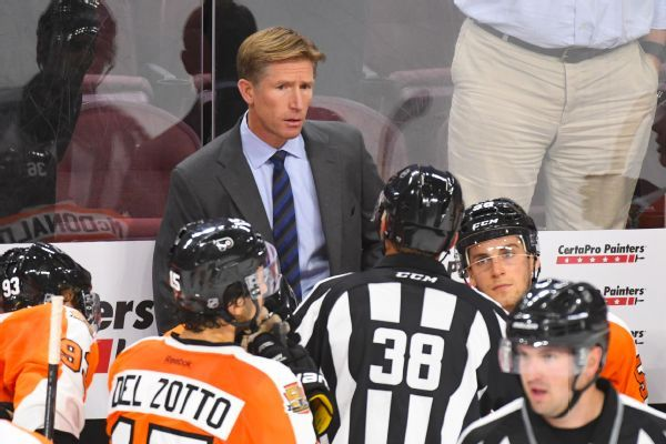 Flyers fire head coach Dave Hakstol