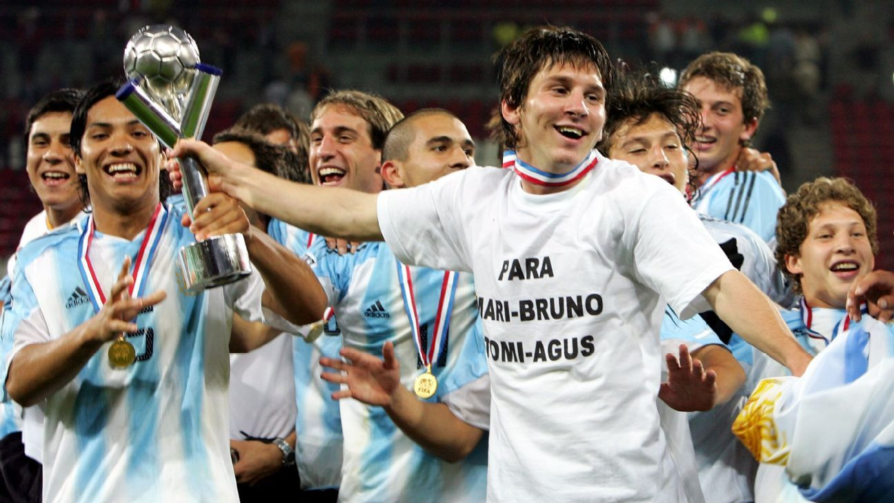 Who might emerge -- as Messi once did -- at South America Under-20 Championships?