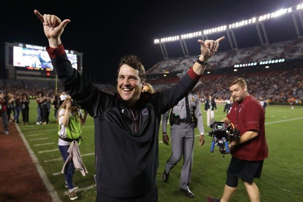 South Carolina extends contract for Will Muschamp, assistants