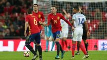 Spain rally late to salvage draw at England; Italy and Germany goalless