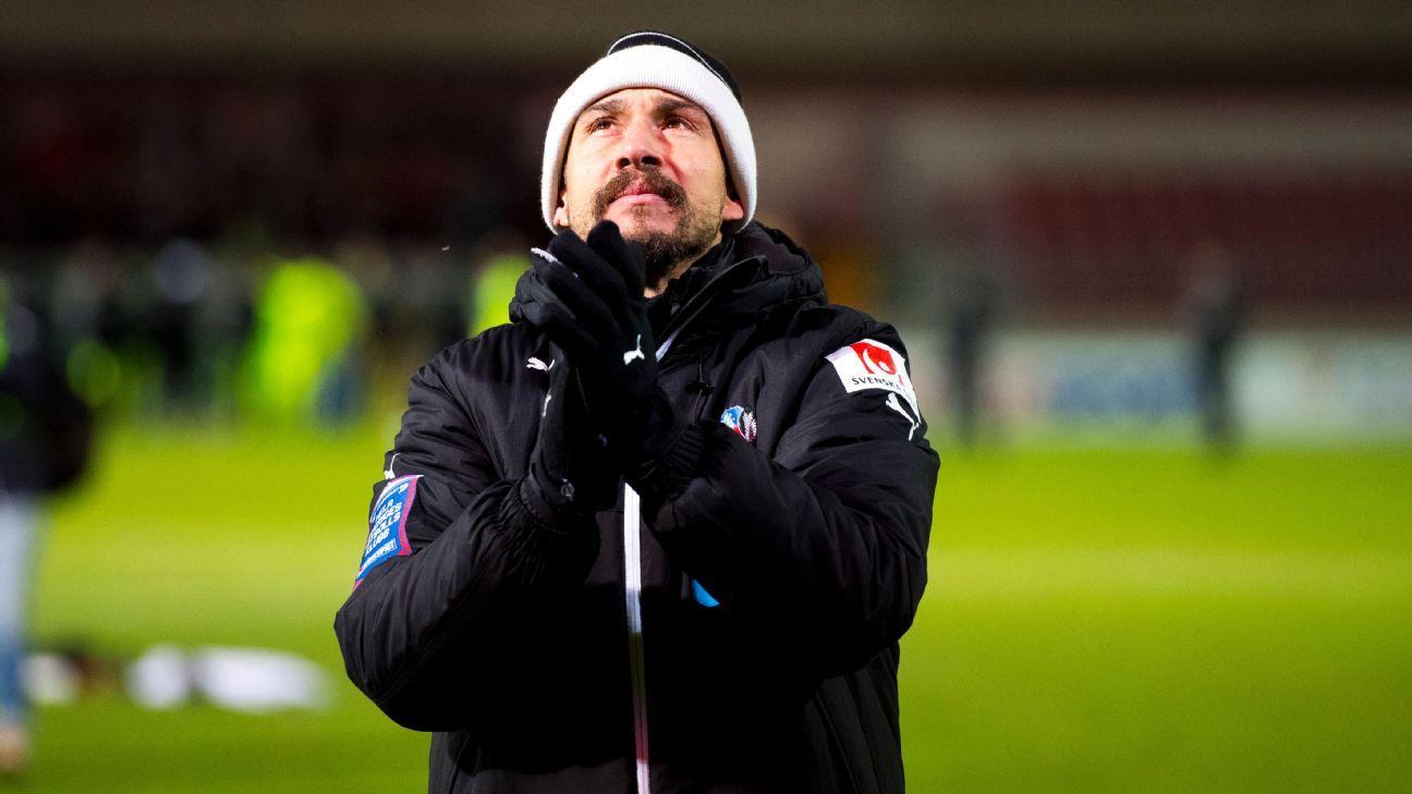 Henrik Larsson leaves Helsingborg following relegation