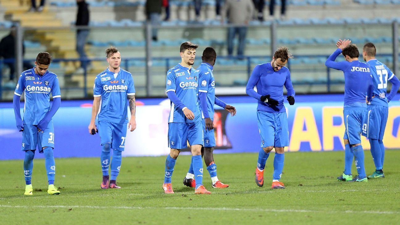 Coppa Italia: Cesena knock out Empoli while Torino and Chievo advance