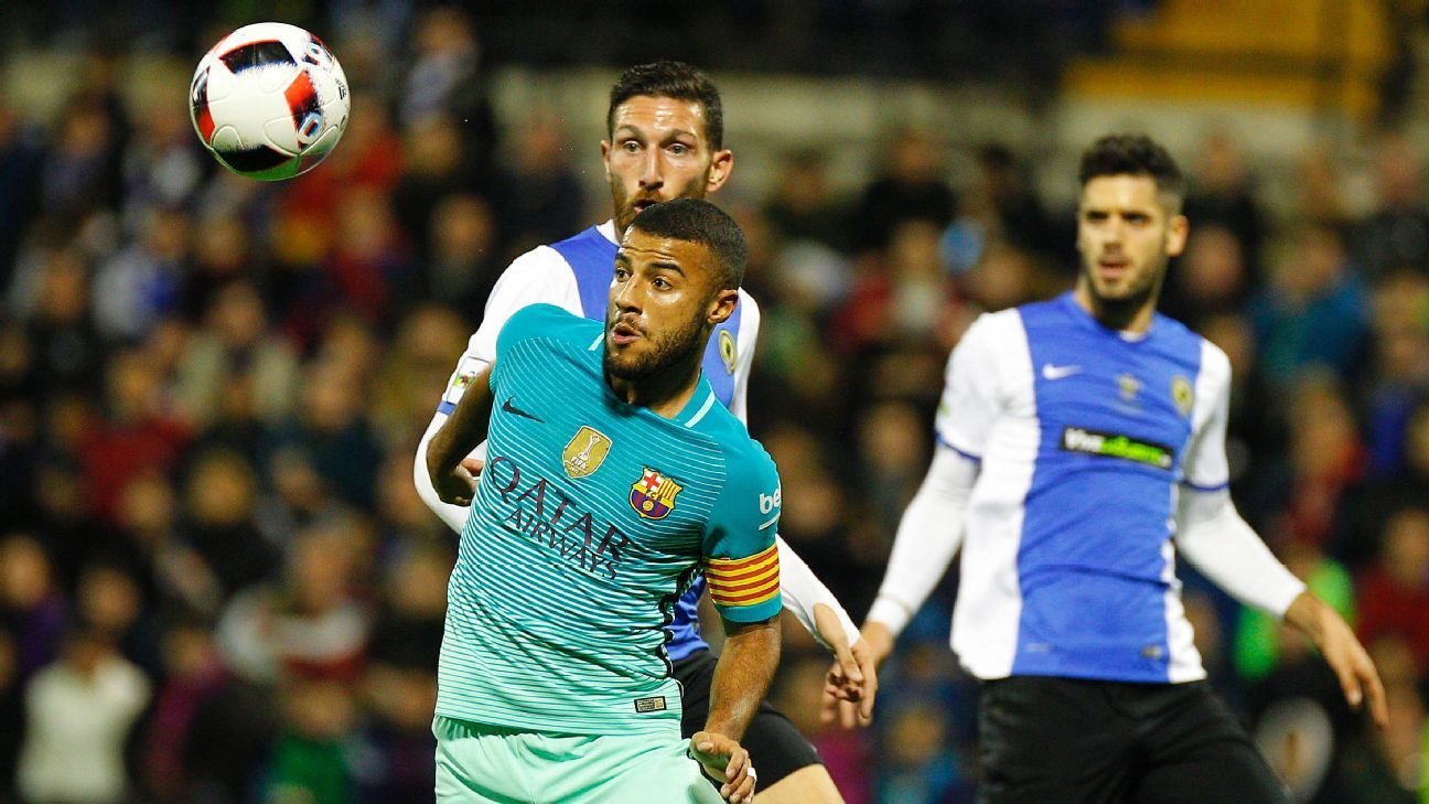 Barcelona held to draw by Hercules in Copa del Rey