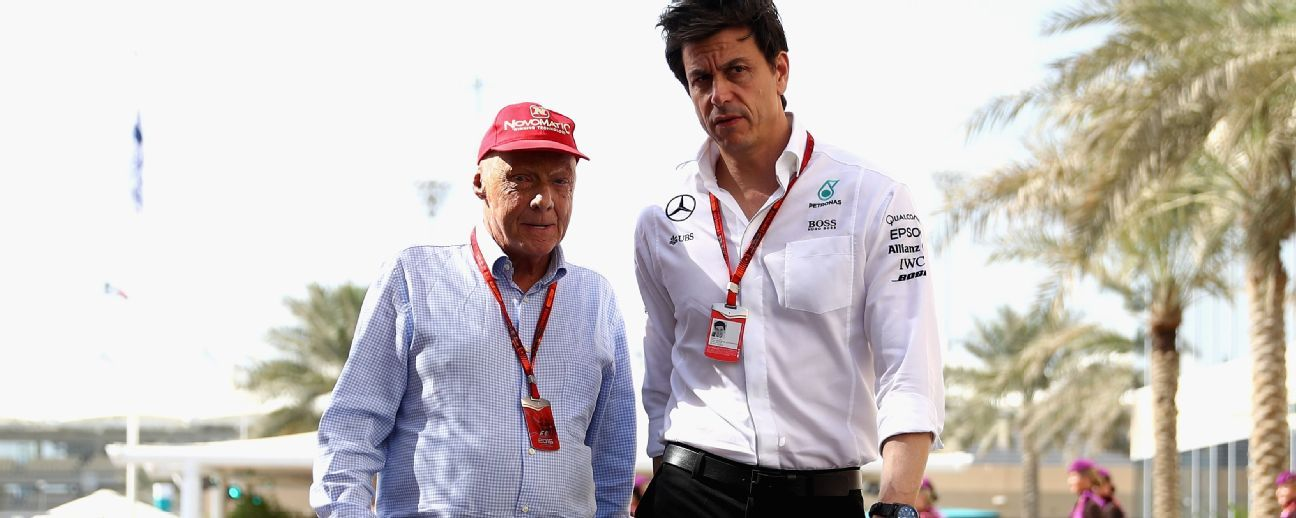 Wolff: Lauda's death has taken away heart and soul of F1