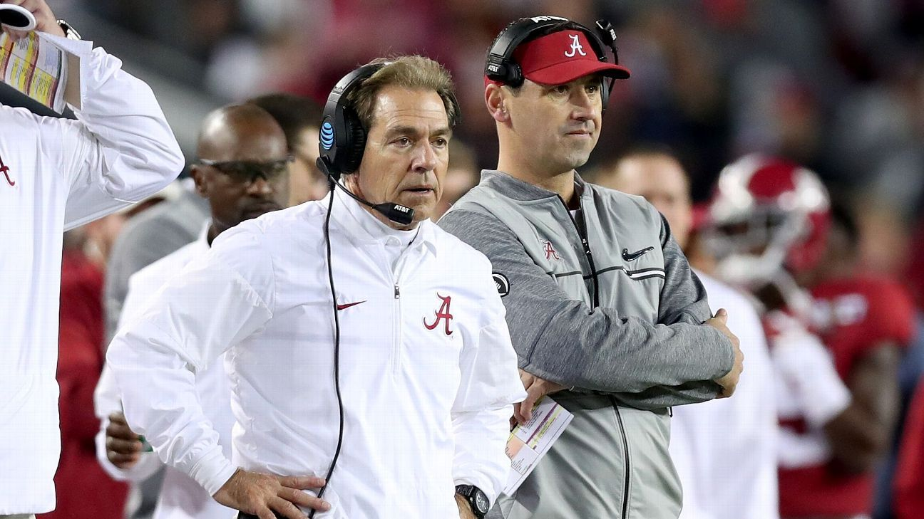 Alabama's assistant saga and the latest on other coaching staff news
