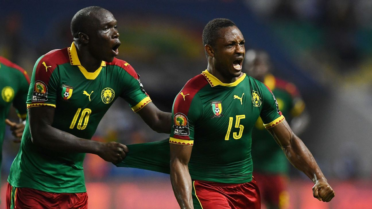 Cameroon come from behind to assume Group A leadership